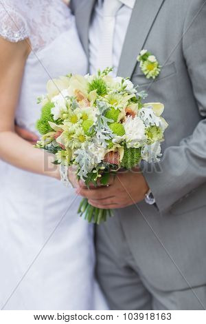Wedding Bouquet Of The Bride