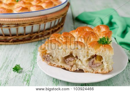 Homemade Pie With Meat