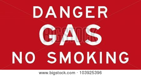Danger Gas No Smoking In Australia