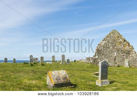 Graveyard On Trumpan