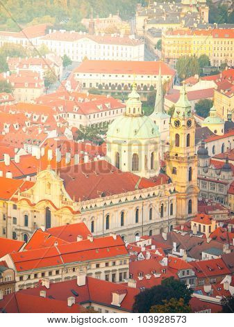 Lesser Town of Prague with St. Nicolas Cathedral