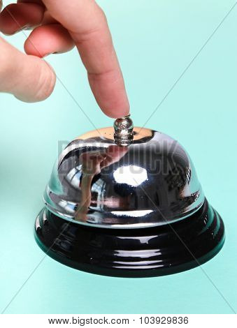 Ring bell on the table