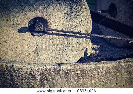 Old Stone Millstones