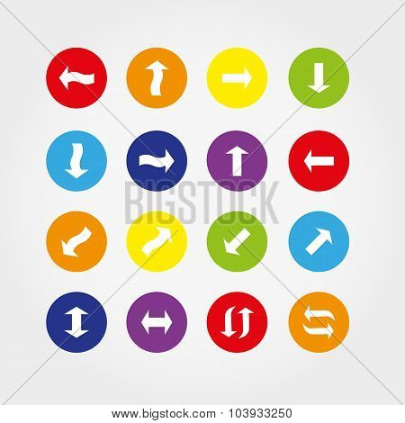 Arrows icons.