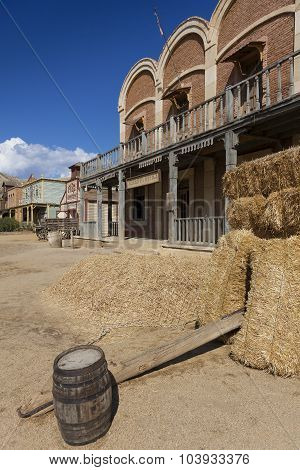 Mini Hollywood Film Set, Desert Of Tabernas, Almeria Province, Andalusia, Spain