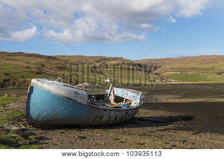 Old Blue Shipwreck