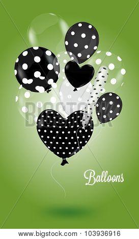 Creative Balloon Green