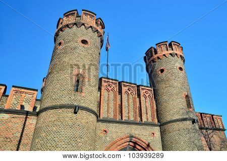 Friedrichsburg Gate - German Fort In Konigsberg. Kaliningrad (formerly Koenigsberg), Russia