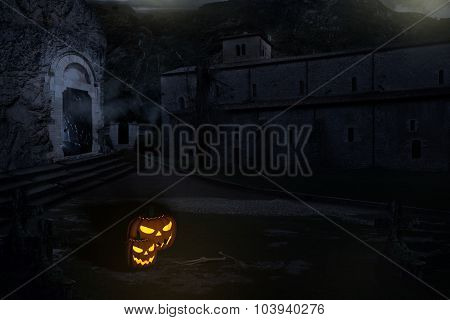 Scary Halloween Scenario