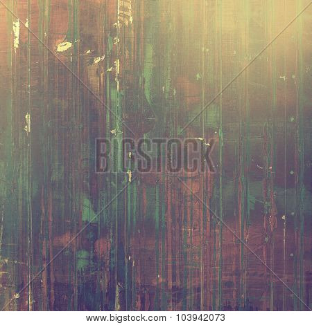 Vintage texture with space for text or image, grunge background. With different color patterns: yellow (beige); brown; green; purple (violet)