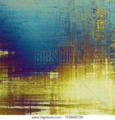 Antique vintage background. With different color patterns: yellow (beige); brown; blue; purple (violet)