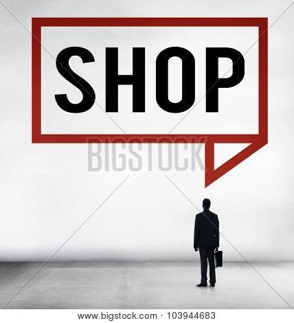 Shop Shopping Commercial Consumer Concept