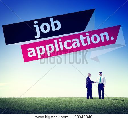 Job Application Applying Recruitment Occupation Career Concept