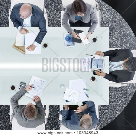 Diverse Business People Meeting Office Concept