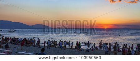 White Beach, Puerto Galera Sunset