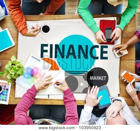 Finance Economy Money Market Financial Concept