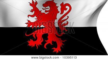 Flag Of Poitou-charentes, France