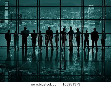 Corporate Business Teamwork Togetherness Inspiration Concept
