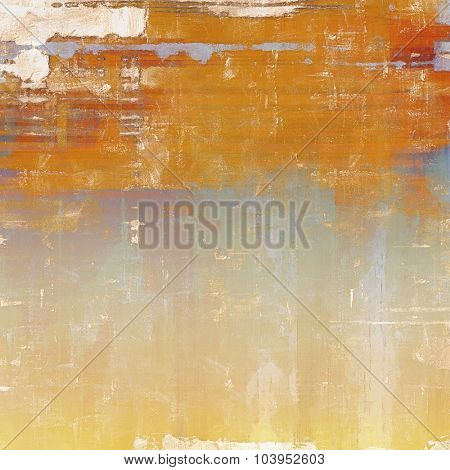 Grunge texture. With different color patterns: yellow (beige); brown; gray; blue