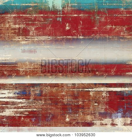 Retro texture. With different color patterns: brown; blue; red (orange); cyan