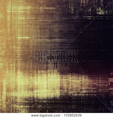 Grunge colorful background. With different color patterns: yellow (beige); brown; black; purple (violet)