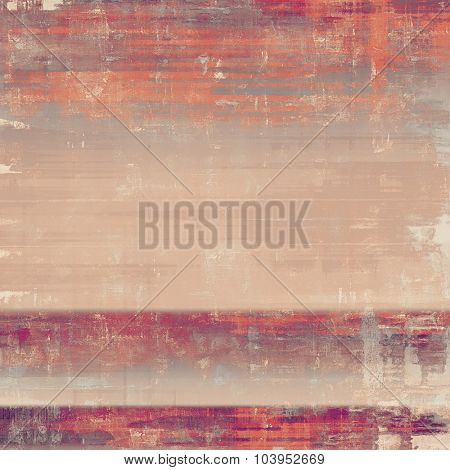 Grunge texture, may be used as retro-style background. With different color patterns: brown; red (orange); pink; purple (violet)