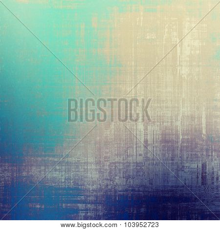 Retro texture. With different color patterns: yellow (beige); brown; blue; cyan