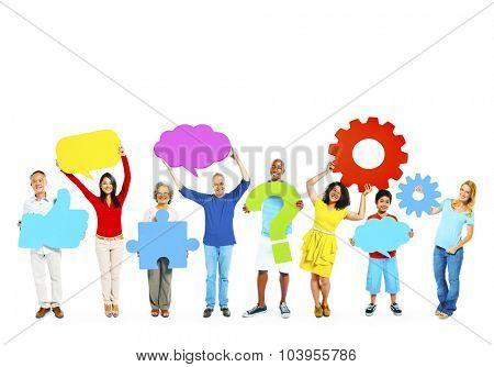 Diversity Ethnic Ethnicity Unity Togetherness Concept