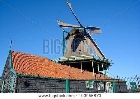 Historic windmills