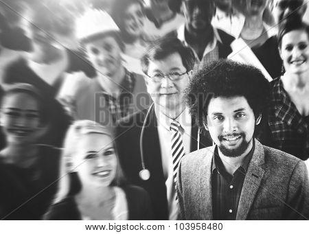 Diverse People Friends Community Concept