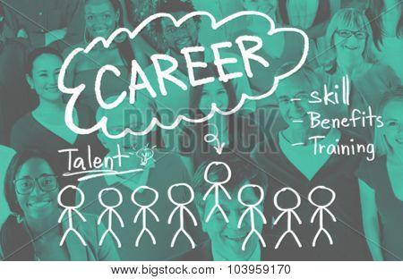 Career Talent Expertise Genius Skills Professional Concept