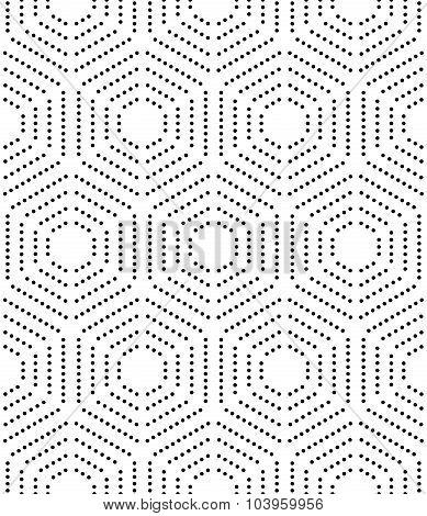 Hexagon Modern Vector Seamless Pattern