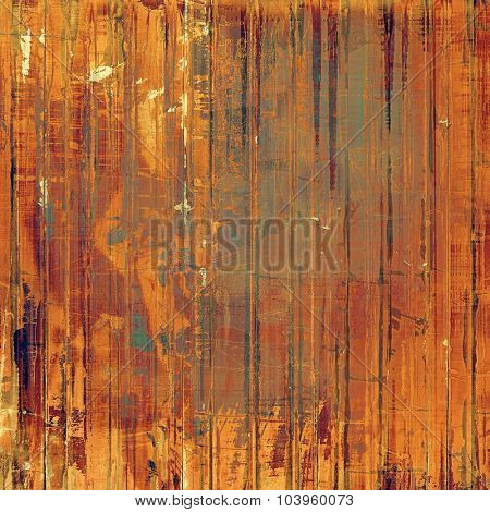 Vintage texture. With different color patterns: yellow (beige); brown; red (orange); green