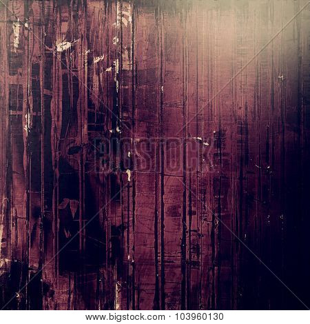 Art grunge vintage textured background. With different color patterns: brown; black; gray; purple (violet)