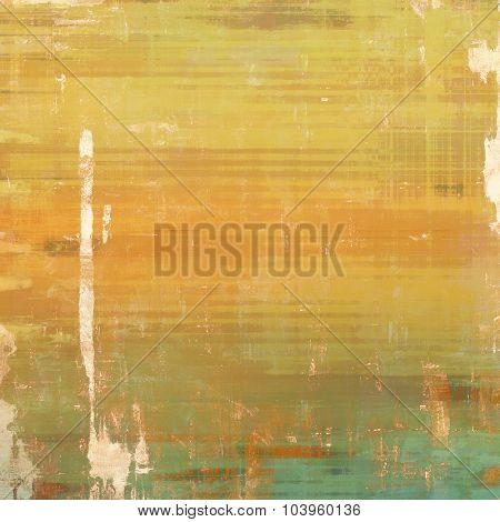 Vintage texture. With different color patterns: yellow (beige); brown; gray; green