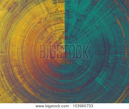 Grunge texture, may be used as retro-style background. With different color patterns: yellow (beige); brown; blue; purple (violet)