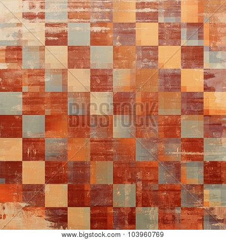 Vintage texture. With different color patterns: yellow (beige); brown; gray; cyan