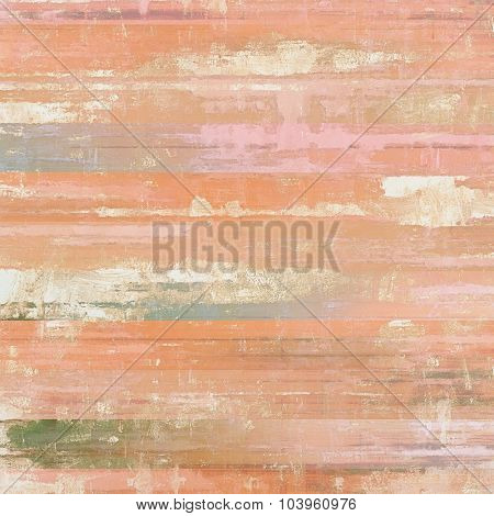 Vintage textured background. With different color patterns: brown; red (orange); pink; cyan