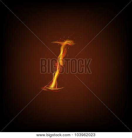 Alphabets of fire