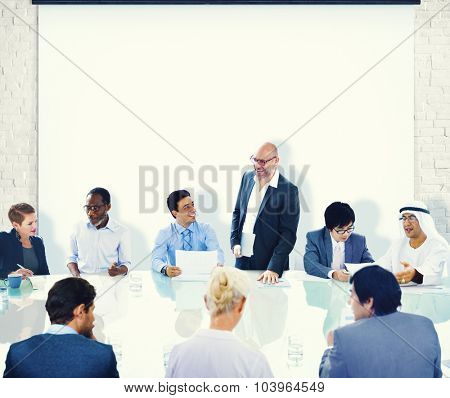 Business People Conference Meeting Boardroom Concept