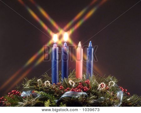 Advent Candle Of Peace