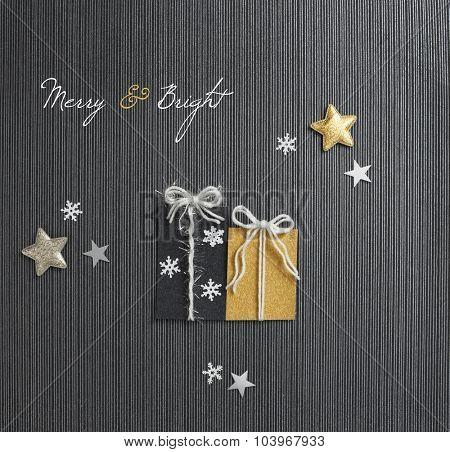 Modern Holiday Present Card