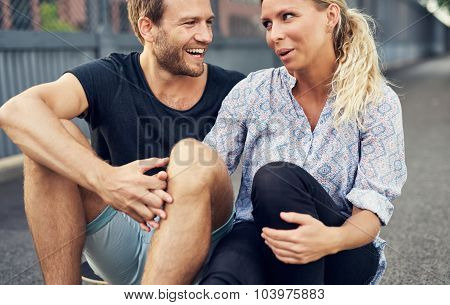 Couple Having A Good Time