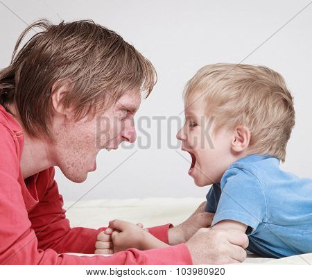 father and son conflict