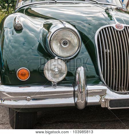 Jaguar Retro Vintage Car