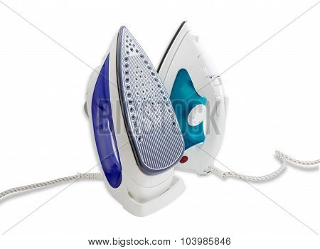 Two Modern Electric Steam Iron