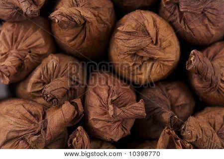 Close Up Handrolled Cigars