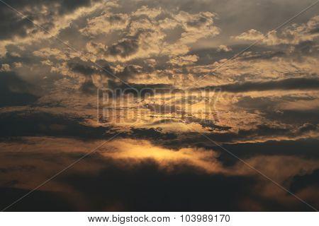 Cloudy Twilight