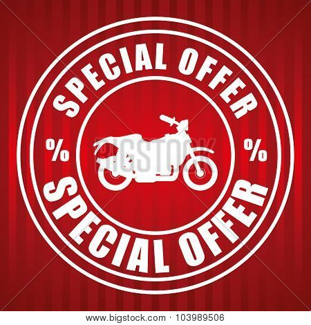 Motorcycle offer