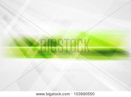 Abstract green technology vector corporate background
